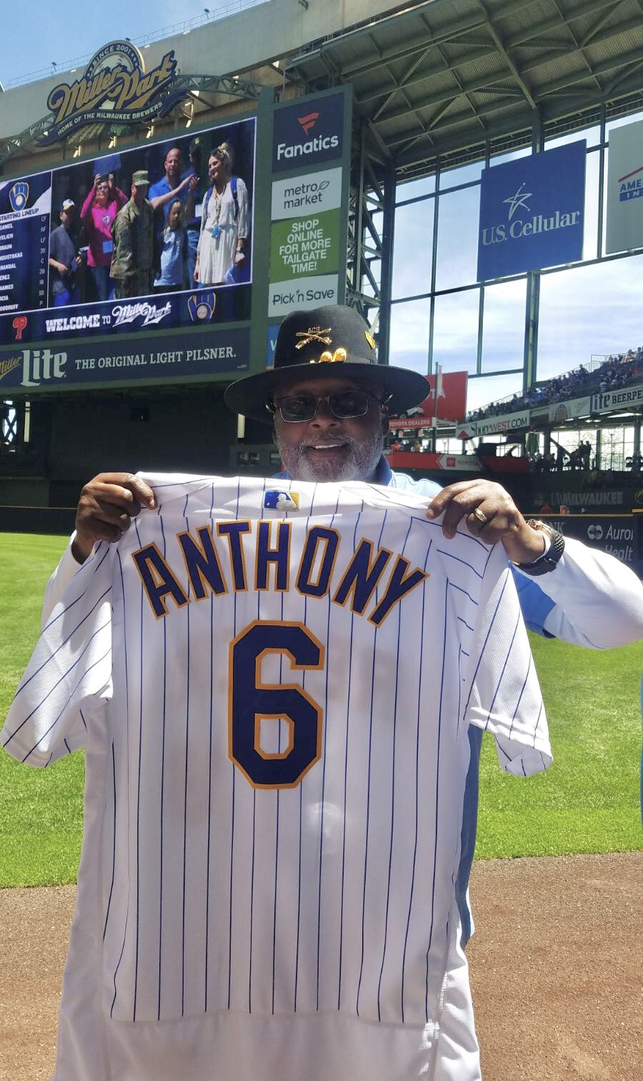 Herman Anthony Brewers 1