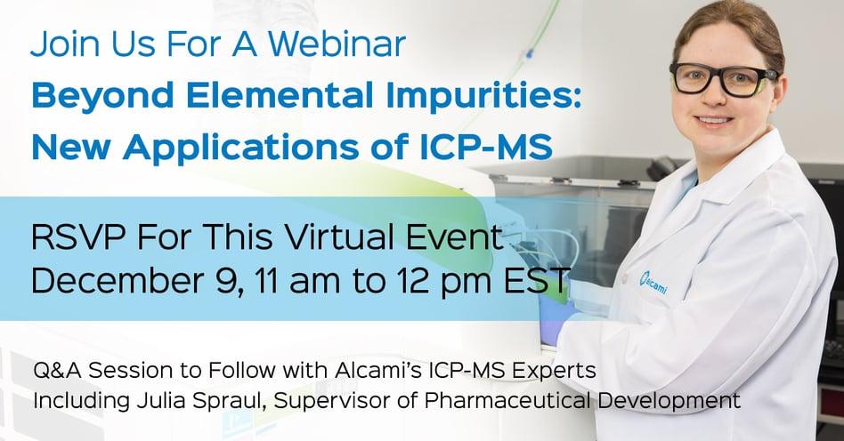 ICP-MS Webinar on December 9