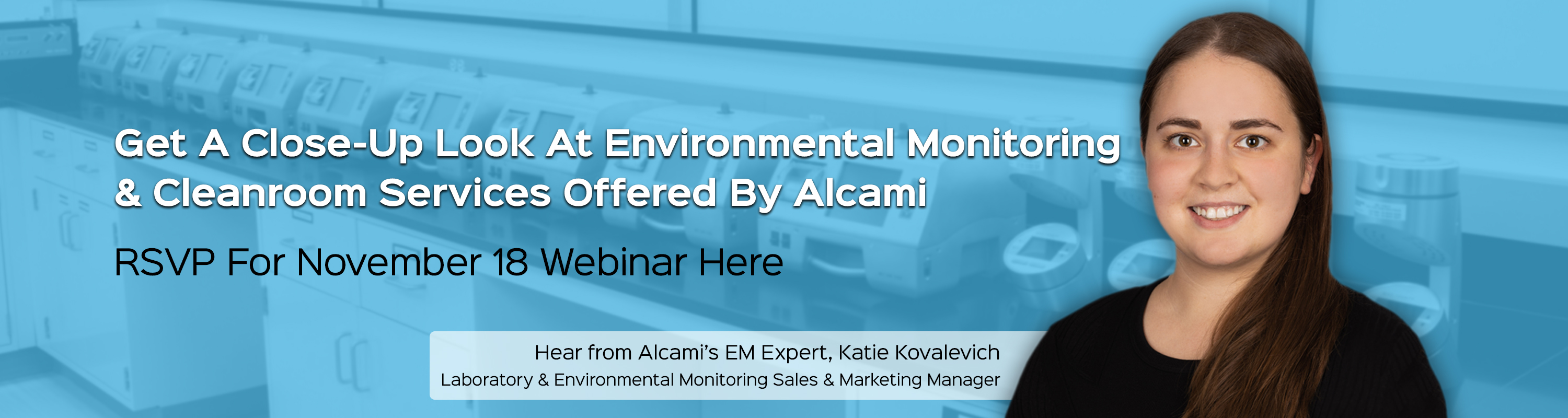Join Katies Excellence in Environmental Monitoring Webinar