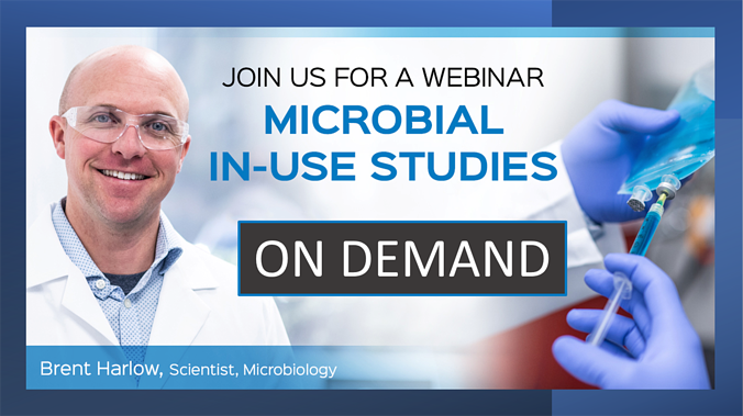 Microbial In-Use Studies On Demand 1200