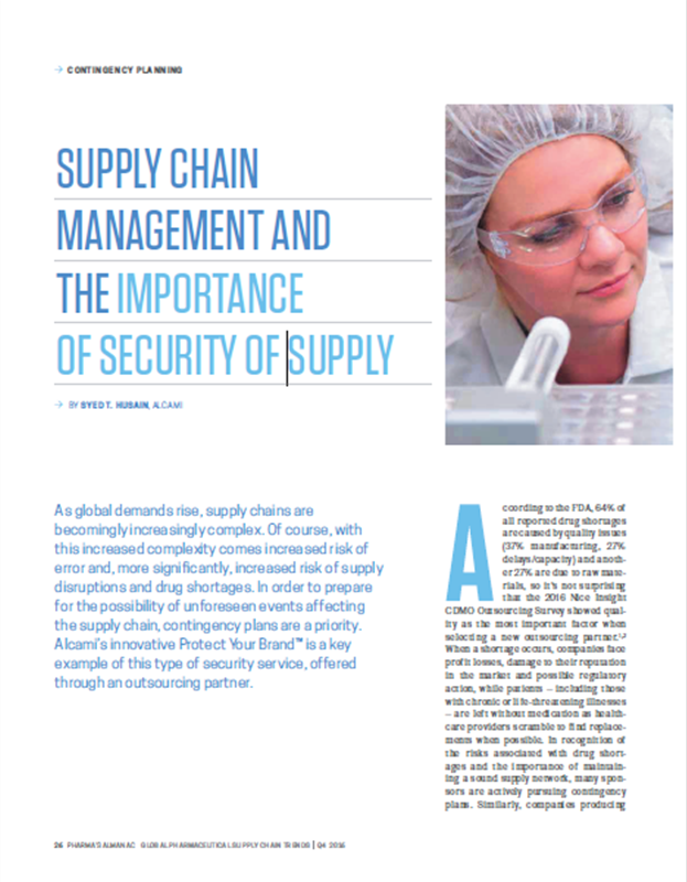 Editorial: Supply Chain Management and the Importance of