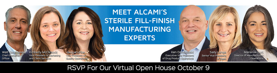RSVP for Alcami's Virtual Open House